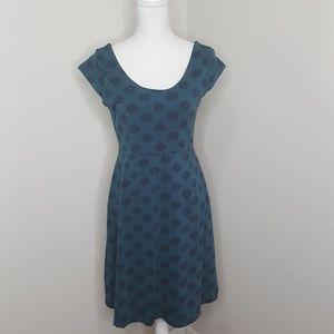 Mata Traders Green Short Sleeve Dress